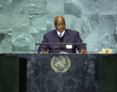 President of Uganda Addresses General Assembly