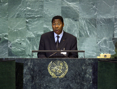 President of Benin Addresses General Assembly