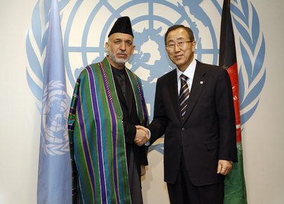 Secretary-General Meets President of Afghanistan
