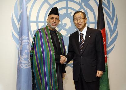 Secretary-General Meets President of Afghanistan