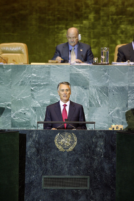 President of Portugal Addresses General Assembly
