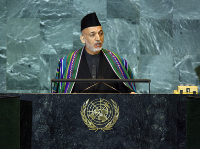President of Afghanistan Addresses General Assembly