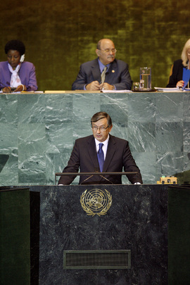 President of Slovenia Addresses General Assembly