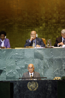 First Vice-President of Cuba Addresses General Assembly