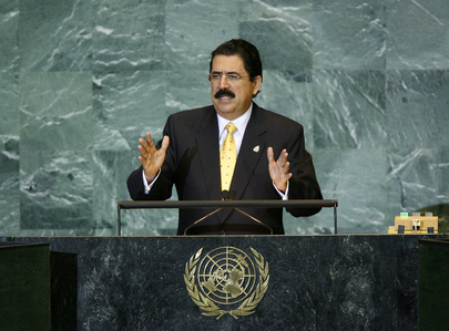 President of Honduras Addresses General Assembly