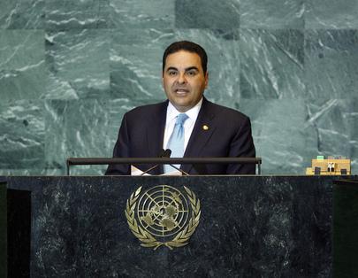 President of El Salvador Addresses General Assembly