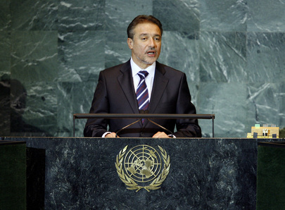 President of Former Yugoslav Republic of Macedonia Addresses General Assembly