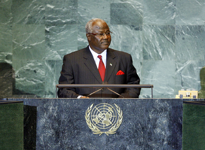 President of Sierra Leone Addresses General Assembly