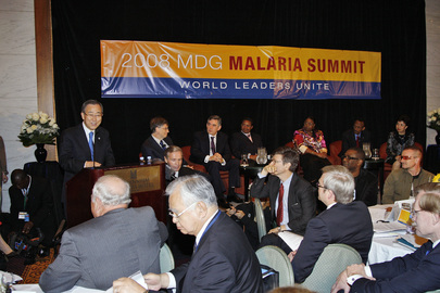 Secretary-General Addresses Global Malaria Action Plan Launch