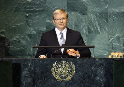 Prime Minister of Australia Addresses General Assembly