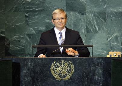 Prime Minister of Australia Addresses General Assembly