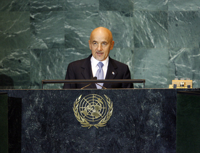 Foreign Minister of San Marino Addresses UN General Assembly