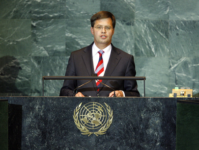 Prime Minister of Netherlands Addresses General Assembly