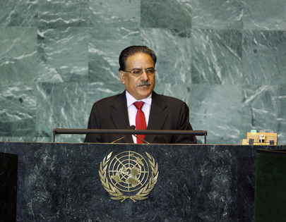 Prime Minister of Nepal Addresses General Assembly 