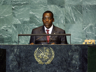 Second Vice-President of Burundi Addresses General Assembly