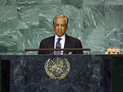 Chief Adviser of Bangladesh Addresses General Assembly