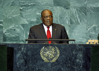 Prime Minister of the Bahamas Addresses General Assembly