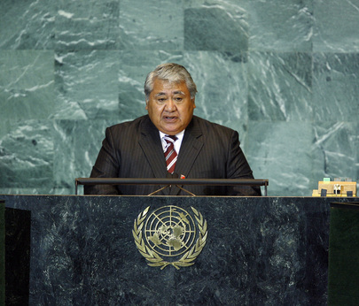 Prime Minister of Samoa Addresses General Assembly