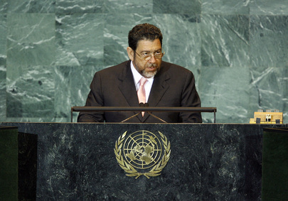 Prime Minister of Saint Vincent and the Grenadines Addresses General Assembly
