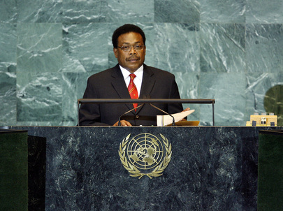 Prime Minister of Solomon Islands Addresses General Assembly