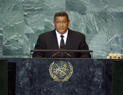 Prime Minister of Tuvalu Addresses General Assembly