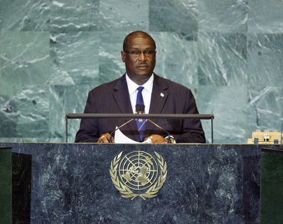 Prime Minister of Saint Lucia Addresses General Assembly
