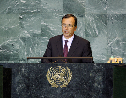 Foreign Minister of Italy Addresses General Assembly