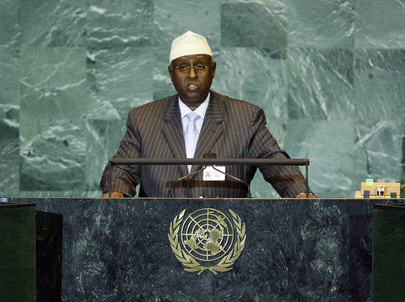 Foreign Minister of Somalia Addresses General Assembly