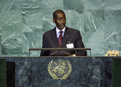 Foreign Minister of Mali Addresses General Assembly