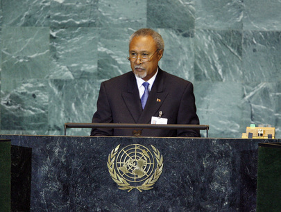 Deputy Prime Minister of Papua New Guinea Addresses General Assembly