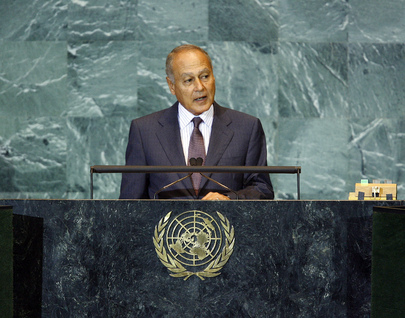 Foreign Minister of Egypt Addresses General Assembly