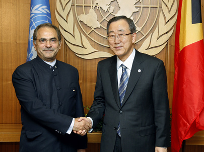 Secretary-General Meets President of Timor-Leste