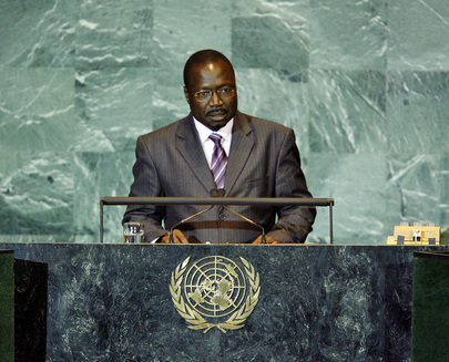 Foreign Minister of Gambia Addresses General Assembly