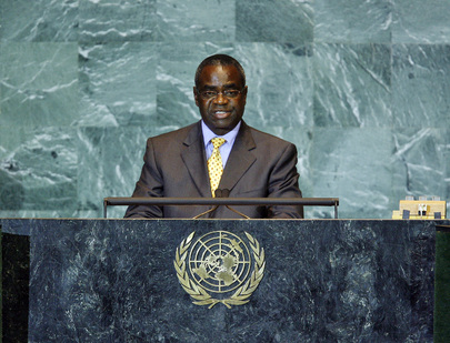 Foreign Minister of Zambia Addresses General Assembly