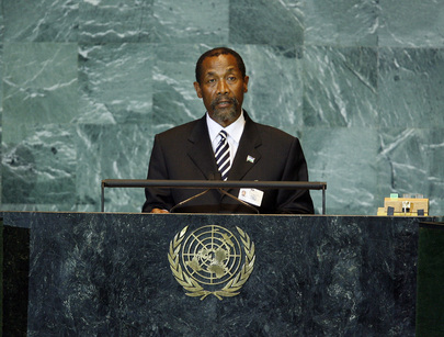 Foreign Minister of Lesotho Addresses General Assembly