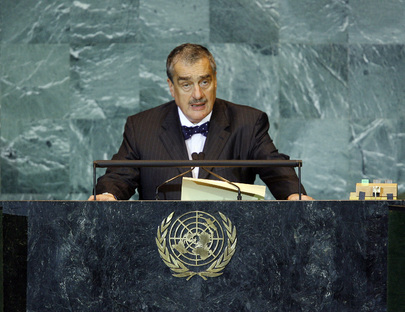 Foreign Minister of Czech Republic Addresses General Assembly