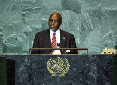 Foreign Minister of Botswana Addresses General Assembly
