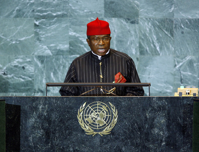 Foreign Minister of Nigeria Addresses General Assembly