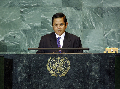 Secretary of State of Cambodia Addresses General Assembly