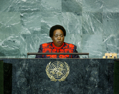Foreign Minister of South Africa Addresses General Assembly