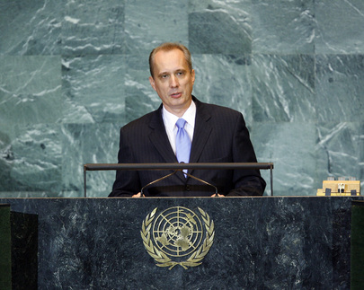 Permanent Representative of Belarus Addresses General Assembly