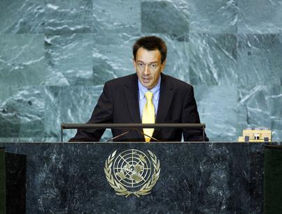 Permanent Representative of Switzerland Addresses General Assembly