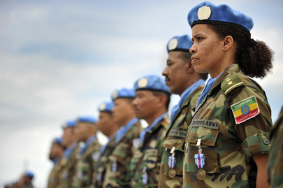 UNMIL Honours Peacekeepers