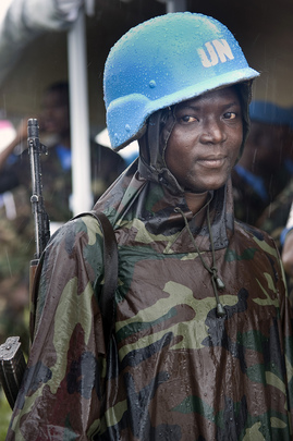 Female UNMIL Peacekeeper
