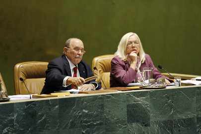 General Assembly President Chairs Debate on Peacebuilding Commission