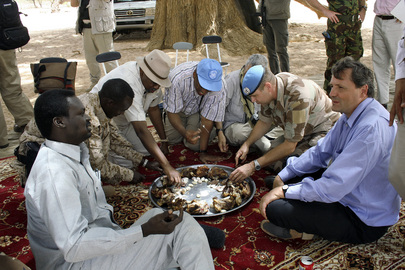 USG for Peacekeeping Operations Visits UNAMID