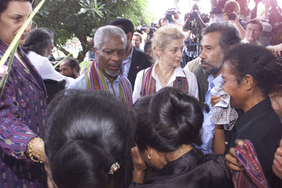 Secretary-General Visits East Timor