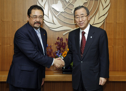 Secretary-General Meets Permanent Representative of Bhutan