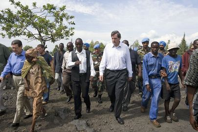 Under-Secretary-General for Peacekeeping Visits Eastern DRC