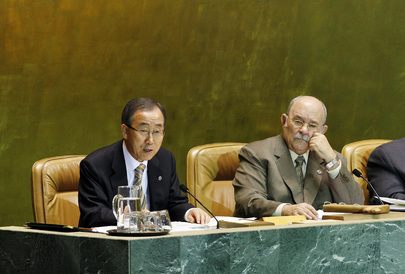 Secretary-General Addresses General Assembly on Culture of Peace